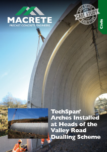 Heads of the Valley Techspan Arches